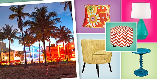 South Beach Style - Ended March 11, 2014 - Designer Décor | Home